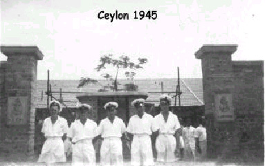 RN men at Sri Lanka