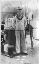 Harry aboard Hood in 1922