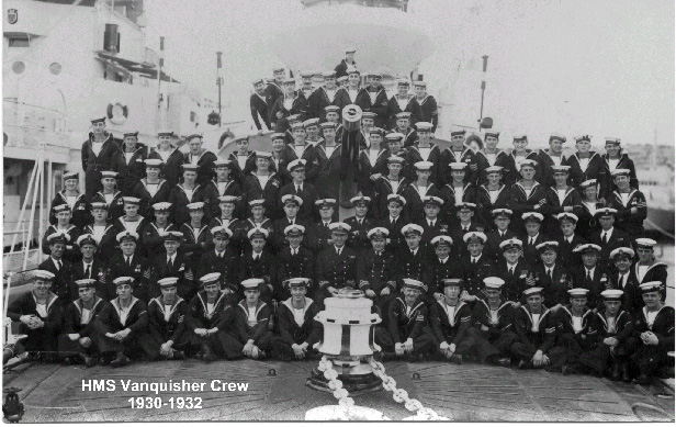 The Crew of Vanquisher, 1930-1932