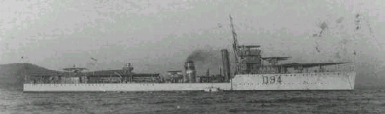 H.M.S. Whitehall