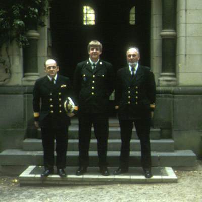 German naval officers