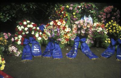 Wreaths for Bismarck