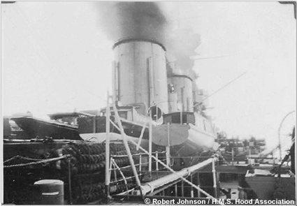 Hood's boat deck circa 1933 or 1934