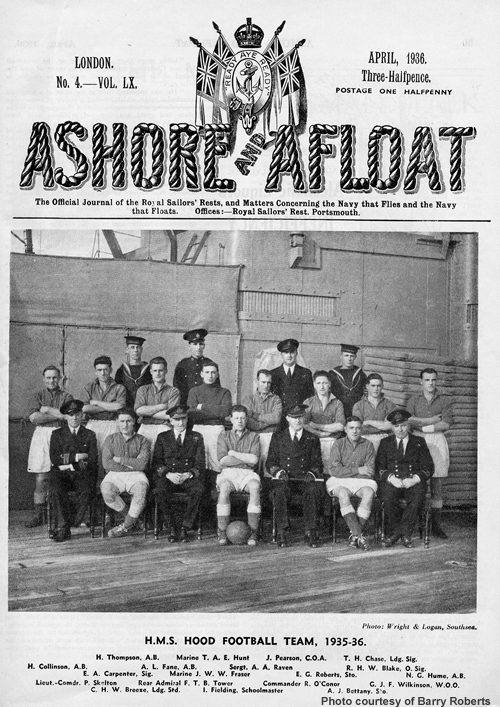 April 1936 edition of Ashore and Afloat
