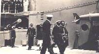Haile Selassie aboard Hood