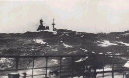 Hood as seen from French warship Dunkerque