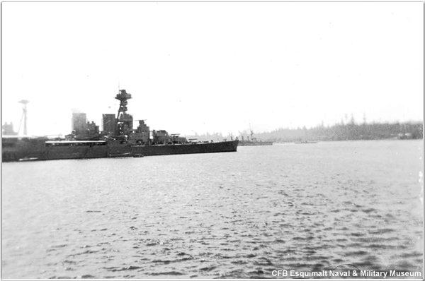 HMS Hood, 1924, courtesy of CFB Esquimalt Naval & Military Museum
