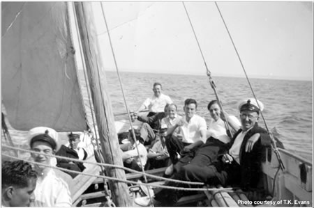 Sailing picnic with accountant division ratings