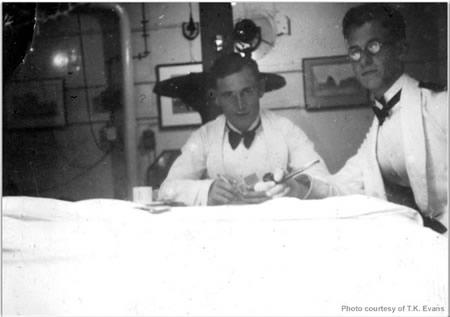 """Dafty"" Davis (left), TK Evans (right)"