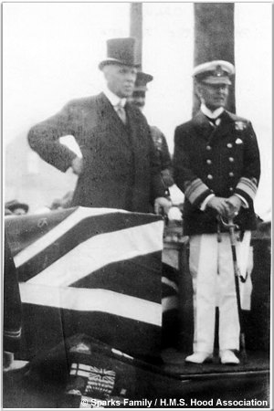Victor Oldum and Sir Frederic Field