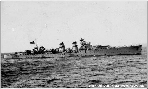 Spanish warship Almirante Cervera