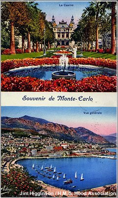 A postcard from Monte Carlo, France
