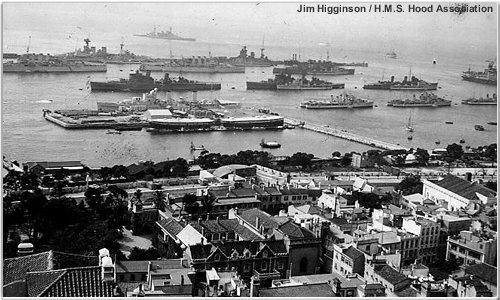 Combined Fleets at Gibraltar, 1937