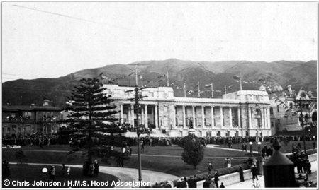 New Zealand Parliament building, 1924