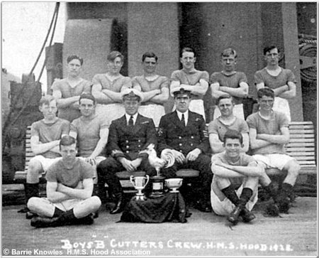 H.M.S. Hood Boys B Cutter Team, 1926