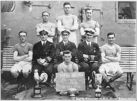 H.M.S. Hoods seamans gig team, 1927
