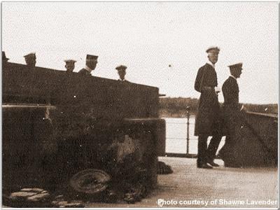 The King of Sweden aboard Hood, 1920