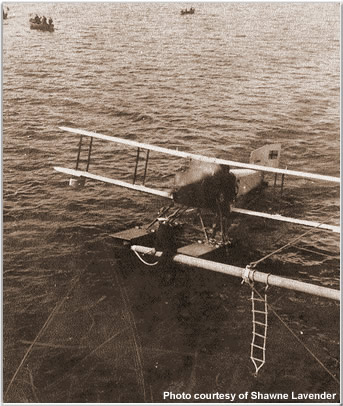 Visitors arriving by seaplane