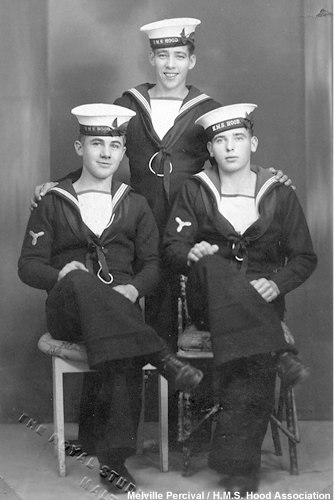 Melville and shipmates from Hood