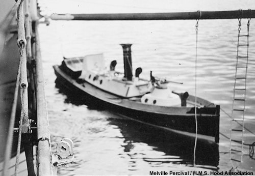 One of Hood'd picket boats