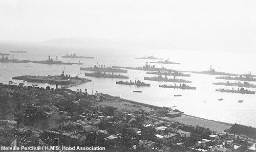 The British fleet at Gibraltar