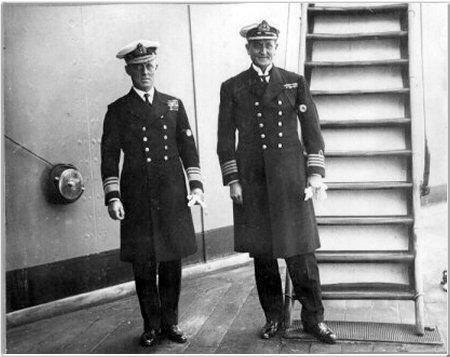 RADM & Capt Reinold