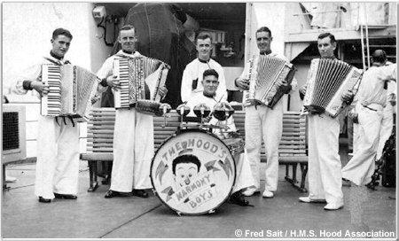 H.M.S. Hoods Harmony Boys band