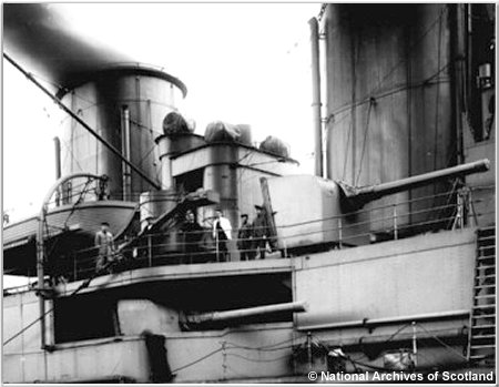 One of H.M.S. Hoods 5.5 inch guns
