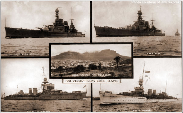 Ships of the Special Service Squadron