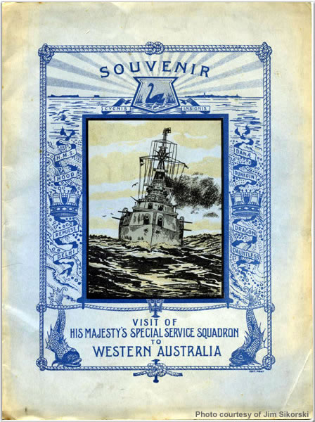 Souvenir of the visit to Western Australia
