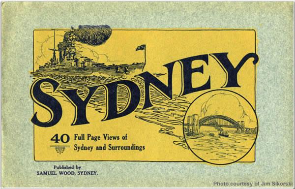 Visit programme from Sydney, Australia, April 1924