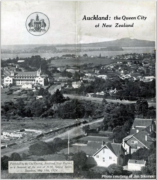 Booklet about Auckland, New Zealand