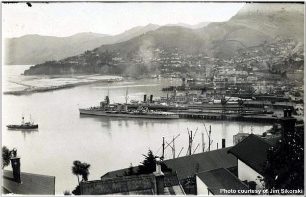 Lyttleton, New Zealand, May 1924