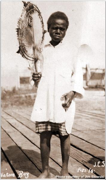 A native boy from Fiji, May 1924