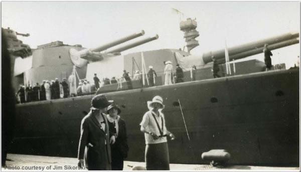 H.M.S. Hood at Victoria, British Columbia, Canada, June 1924