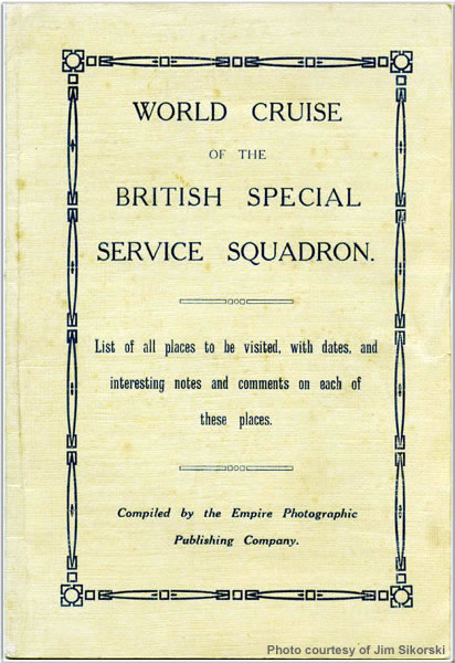 World Cruise of the Special Service Squadron title page
