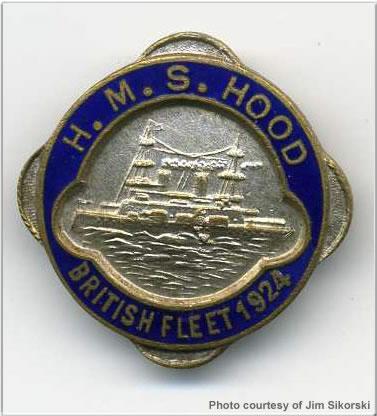 Commemorative lapel pin, 1923 or 1924