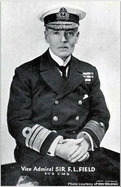 Portrait of VADM Sir Frederic L. Field, KCB, CMG