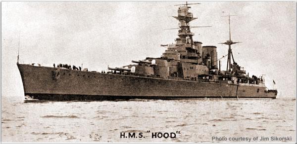 H.M.S. Hood, 1923/1924