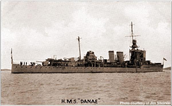 H.M.S. Danae