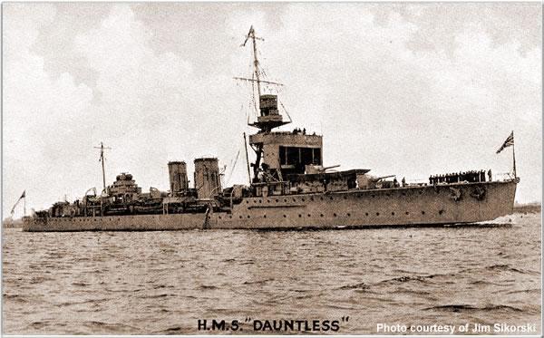 H.M.S. Dauntless