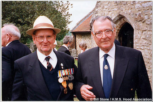Bill Stone and Ted Briggs (right) at Boldre, 1998