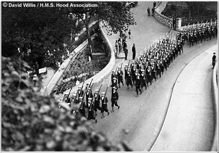 Naval Brigade March Past