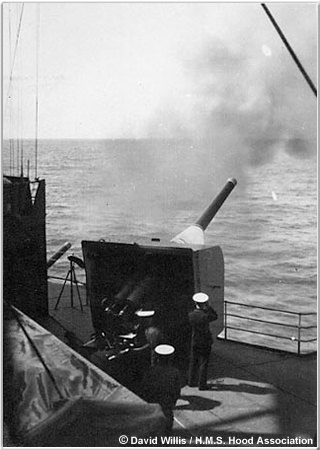 Royal Marine 5.5 inch gun crew